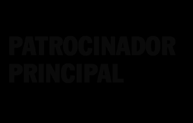 PATROCINADOR PRINCIPAL